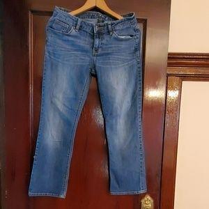 APT 9 blue jean, straight leg, size 4